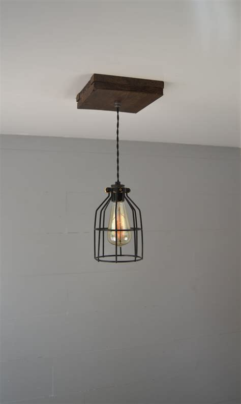 Reclaimed Wood Light Fixture by Pendant Light Pendant Lighting Reclaimed Wood Pendant