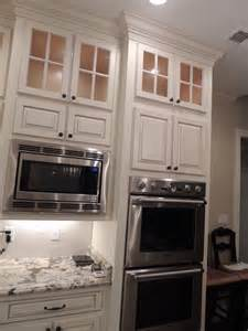 wall oven and microwave