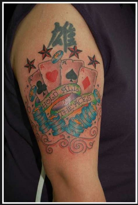 all aces tattoo hold all the aces