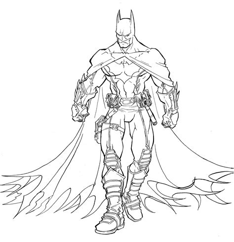 Batman Coloring Pages Printable Batman Coloring Pages