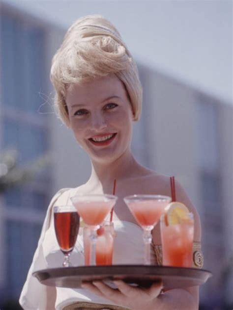 cocktail waitress 1960s waitron accessories