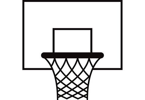 basketball net clipart basketball net pattern vector www imgkid the image