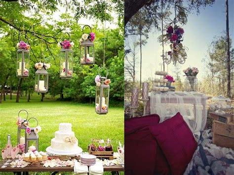 decorare un giardino decorare un giardino per una festa foto design mag