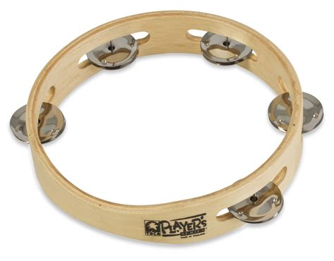 Tambourine Popbytes 2 3 by Toca Toca Player S Wood Tambourine 7 1 2 Quot Single Row