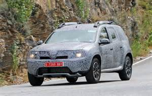 Renault Duster News All New Dacia Duster In Spyshots Frankfurt