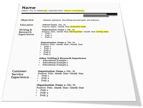 How To Write A Resumer by How To Write A Resume Resume Cv