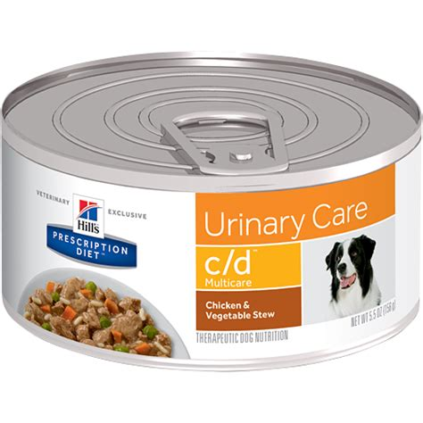 urinary care food hill s prescription diet canine c d urinary care canned food vic pharmacy