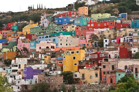 colorful city colorful guanajuato city mexico zabavnik