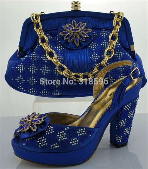 dress shoe and bag matching set wholesale shoe