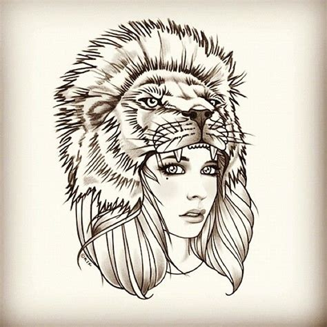 tattoo girl lion 99 best ink my whole body images on pinterest tattoo