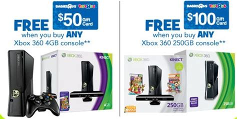 Walmart Xbox 360 100 Dollar Gift Card - hot xbox 360 250gb holiday bundle 199 00 after 100 in store credit coupon