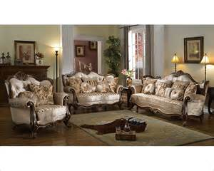 Sofa Traditional Style Brown Sofa Set In Traditional Style Mcfsf8700