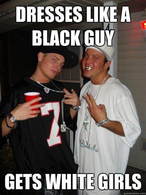 Black Man White Woman Meme - wannabe wigs memes quickmeme