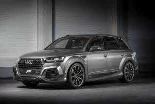 the abt tuning program for your audi q7