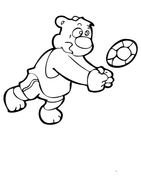 cartoon volleyball coloring page volleyball cartoon pictures cliparts co