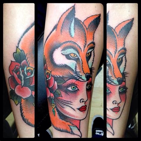 traditional fox tattoo 17 best images about animal headdress on