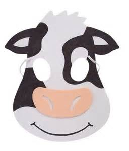fil a cow mask template 17 best images about animal masks on animal