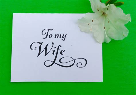 printable valentine card for wife valentines day card to my wife wedding day by