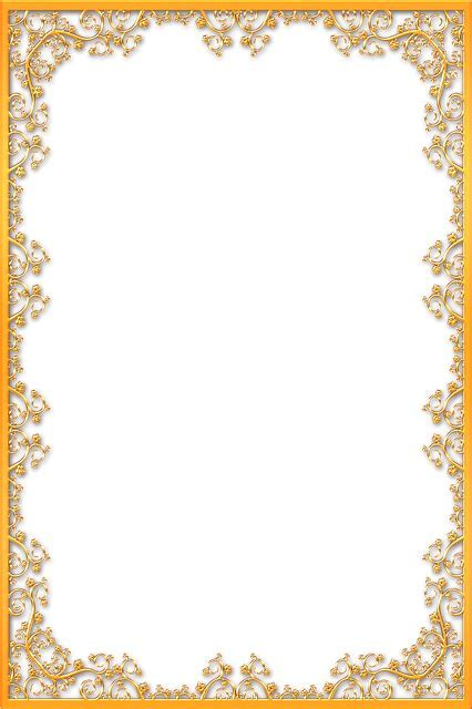 Frame Ornate Gold · Free image on Pixabay