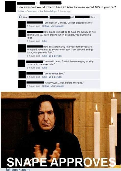 Severus Snape Memes - turn to page 394 know your meme