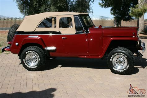 willys jeepster willys jeepster 1951 professional restoration