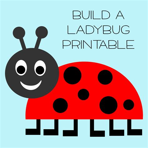 printable ladybug images 5 best images of free printable ladybug templates free