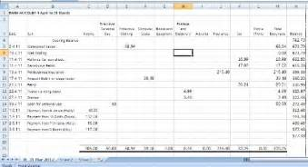 Template For Small Business Bookkeeping by Book Keeping Spreadsheets For Small Business
