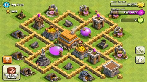 clash of clans layout strategy level 5 town hall level 5 defense best strategy for clash of clans