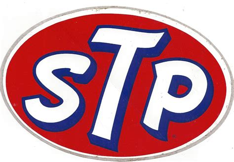 St P stp racing decal sticker 6 inches vintage crashdaddy racing decals