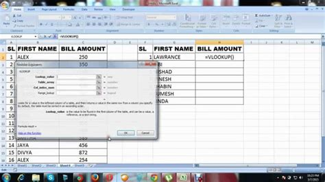 excel tutorial in malayalam excel vlookup tutorial in malayalam 2 youtube