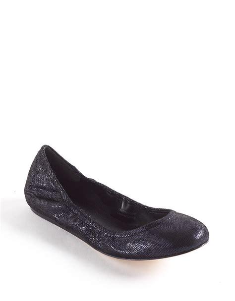 wang flat shoes vera wang lavender lillian ballet flats in blue lyst