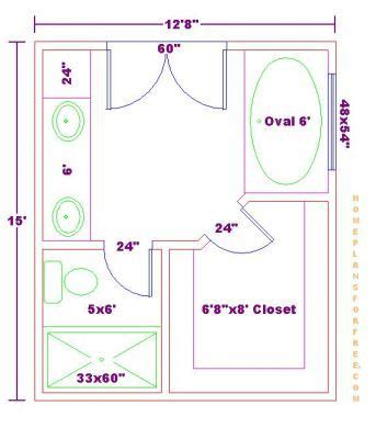 Master Closet Dimensions by Free Master Bath Floor Plan With 12x15 Dimensionsmaster