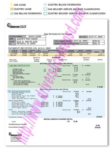 atlanta gas light pay bill 11 best utility bills psd images on utility