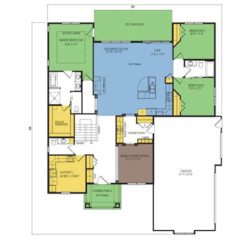 medina floor plan 3 beds 2 5 baths 2268 sq ft wausau
