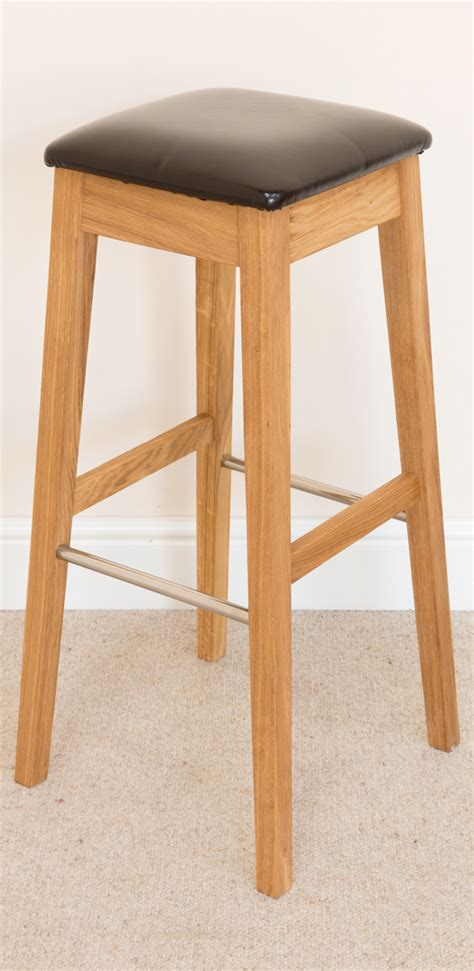 Really Large Stool by Lombok Bar Stool 132 Solid Oak Brown Leather Bar Stools Bar Stool Wooden Stools Wooden