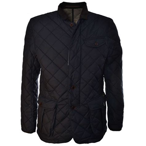 Patchwork Jacket Mens - lindbergh mens quilted jacket
