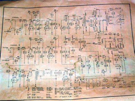 Eg Bass Ilfier V 4b vintage eg s schematics marshall schematics