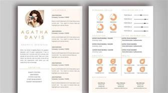 resume design templates word the best cv resume templates 50 exles design shack