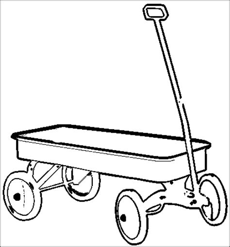 wagon coloring pages printable painting inspiration