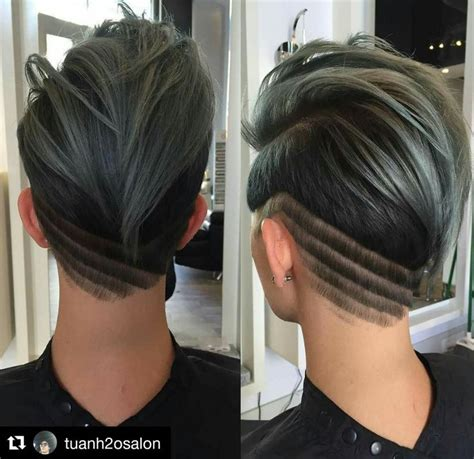 haircut designs tumblr 25 best ideas about shaved nape on pinterest discover