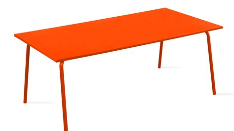 Table Metal Jardin by Table De Jardin En Acier