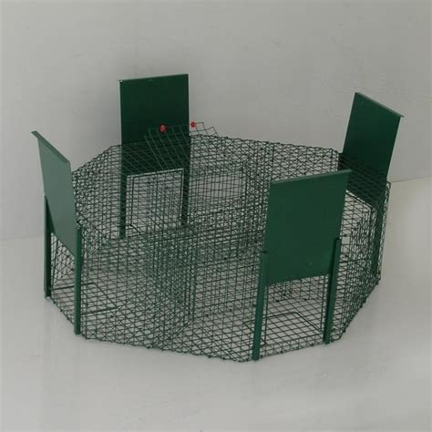 gabbie trappola per uccelli trappola per corvidi 4 entrate ferranti