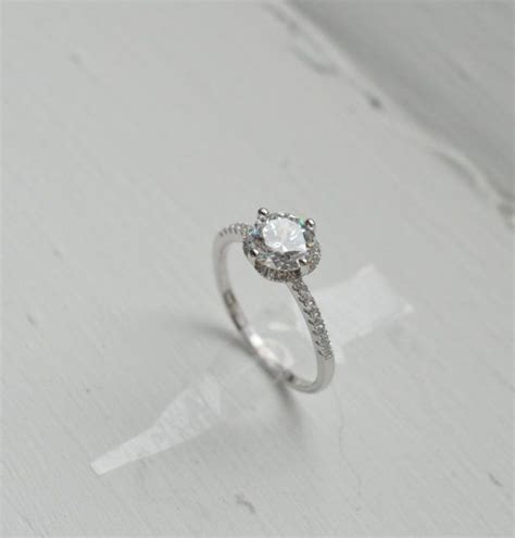 thin brilliant engagement ring engagement ring
