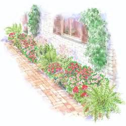 Garden Of Foundation Colorful Front Yard Garden Plans Foundation Gardens And