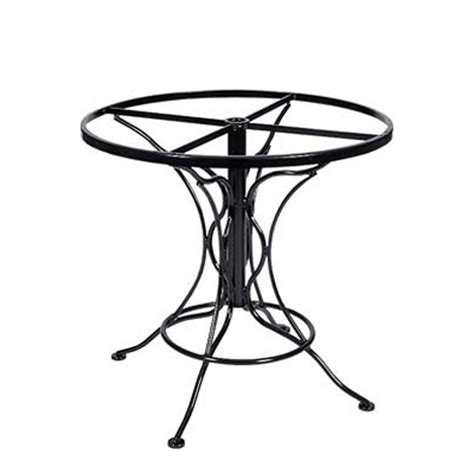 Wrought Iron Base Dining Table Woodard 88f336 Dining Tables And Bases Wrought Iron Dining Table Base Only Discount Furniture