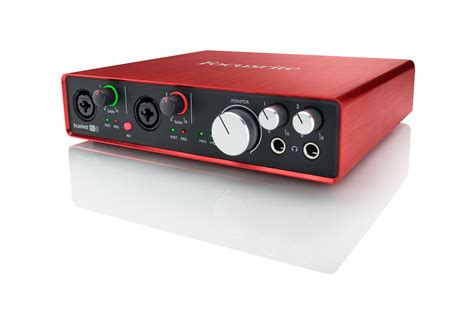 Focusrite 2nd Soundcard Audio Interace focusrite 6i6 2nd generation usb audio interface