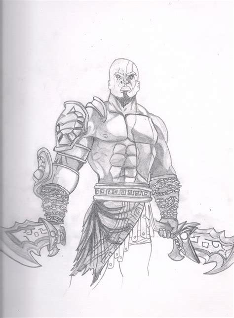 imagenes de kratos para dibujar faciles dibujo paso a paso de god of war kratos arte taringa