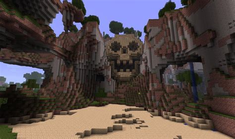 Farm House Blueprints by Build Your Own Minecraft Skull Mountain Lair Surviving