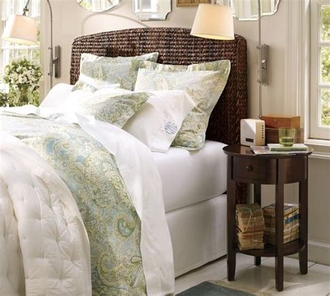 pottery barn headboards seagrass headboard pottery barn for the home pinterest
