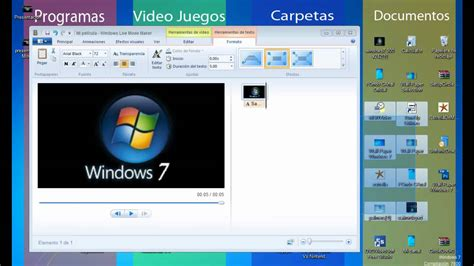 windows movie maker windows vista tutorial movie maker windows 7 tutorial en espa 241 ol creando